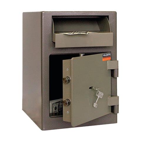 """Сейф депозитный VALBERG """"ASD-19"""", 489х342х381 мм, 38 кг, ключевой замок, крепление к полу"""