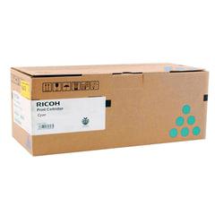 Тонер-картридж RICOH (407900) Ricoh SP C340DN, голубой, ресурс 3800 стр., оригинальный