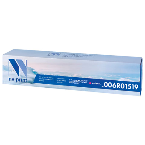 Тонер-картридж XEROX (006R01519) WC 7545/7556 и др., пурпурный, ресурс 15000 стр., NV PRINT, совместимый