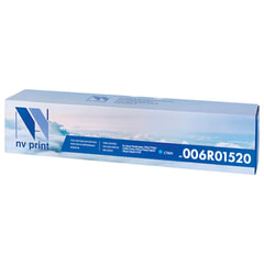 Тонер-картридж XEROX (006R01520) WC 7545/7556 и др., голубой, ресурс 15000 стр., NV PRINT, совместимый