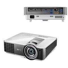 Проектор мультимедийный BENQ MX819ST, DLP, 1024x768, 3000 Лм, 13000:1, 3D, VGA, HDMI, короткофокусный