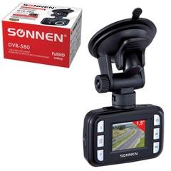 Видеорегистратор автомобильный SONNEN DVR-580, Full HD, 120°, экран 1,5'', microSDHC