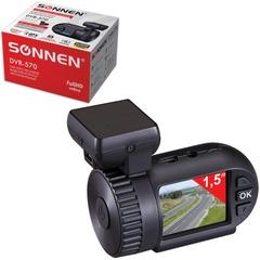 Видеорегистратор автомобильный SONNEN DVR-570, Full HD,130°, экран 1,5'', GPS, G-сенсор, microSDHC, HDMI