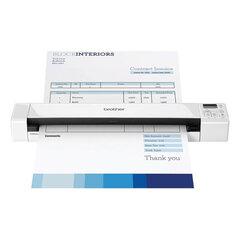 Сканер мобильный BROTHER DS-820W, А4, 7,5 стр./мин., 600x600, Wi-Fi, card reader, встроенный аккумулятор (кабель USB в комплекте)