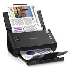 Сканер потоковый EPSON WorkForce DS-520, A4, 30 стр./мин, 600x600, 48 bit, АПД (кабель USB в комплекте)