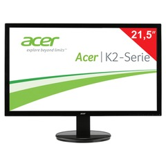 "Монитор LED 21,5"" (55 см) ACER K222HQLbd (UM.WW3EE.002), 1920x1080, TN+film, 16:9, DVI, D-Sub, 200 cd, 5 ms, черный"