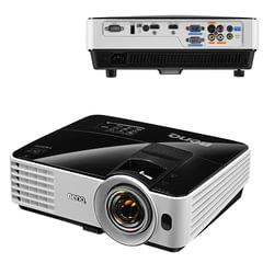 Проектор мультимедийный BENQ MX631ST, DLP, 1024x768, 3200 Лм, 13000:1, 3D, VGA, HDMI, короткофокусный