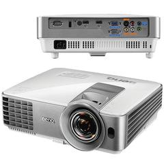 Проектор BENQ MW632ST, DLP, 1280x800, 16:10, 3200 лм, 13000:1, короткофокусный, 2,6 кг