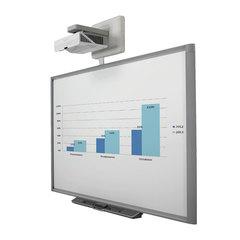 Интерактивный комплект SMART SBX885i7: доска SBX885, активный лоток, панель управления, проектор U100w, кронштейн