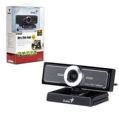 Веб-камера GENIUS Facecam Widecam F100, 12 Мп, микрофон, черный