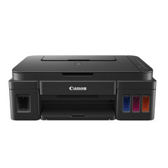 МФУ струйное CANON PIXMA G2400 (принтер, копир, сканер), А4, 4800х1200, 8,8 стр./мин., с СНПЧ (без кабеля USB)