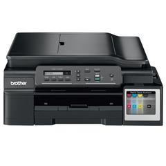 МФУ струйное BROTHER InkBenefit Plus DCP-T700W (принтер, сканер, копир), A4, 6000x1200, 11 стр./мин., Wi-Fi, АПД с СНПЧ