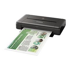 Принтер струйный CANON Pixma IP110, А4, 9600х2400, 9 стр./мин., Wi-Fi, портативный, работа от аккумулятора