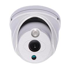 """Камера AHD купольная FALCON EYE FE-ID720AHD/10M, 1/4"""", уличная, цветная, 1280x800, белая"""