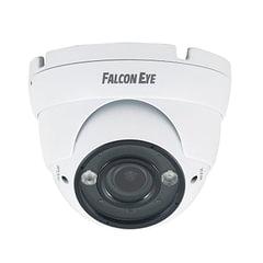 """Камера AHD купольная FALCON EYE FE-IDV720AHD/35M, 1/3"""", уличная, цветная, 1280х960, регулируемый фокус, белая"""