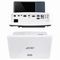 Проектор ACER U5220, DLP, 1024x768, 4:3, 3000 лм, 13000:1, ультракороткофокусный, 5,5 кг