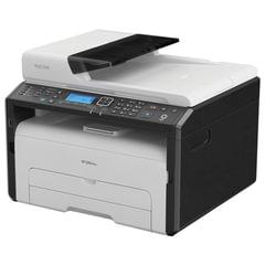 МФУ лазерное RICOH SP 220SFNw (принтер, сканер, копир, факс), А4, 23 стр./мин., 20000 стр./мес., АПД, Wi-Fi, сетевая карта