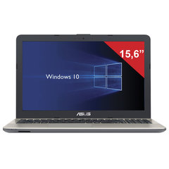 "Ноутбук ASUS X541UV, 15,6"", INTEL Core i3-7100U 2 ГГц, 4 ГБ, 500 ГБ, NO DVD, GF920 2GB, Windows 10 Home, черный"