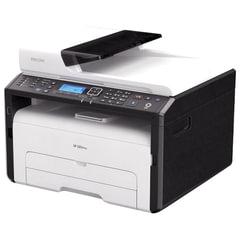 МФУ лазерное RICOH SP 277SFNwX (принтер, сканер, копир, факс), А4, 23 стр./мин., 20000 стр./мес., АПД, сетевая карта, Wi-Fi