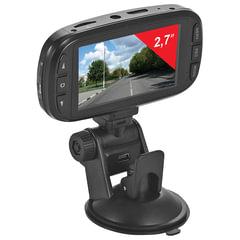 Видеорегистратор SUPRA SCR-74SHD, AV, miniUSB, HDMI, 170°, экран 2,7, FullHD, 2304х1296, microSD до 64 Гб
