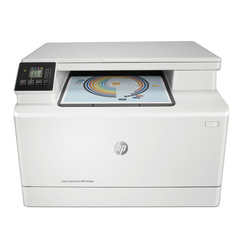 "МФУ лазерное ЦВЕТНОЕ HP LaserJet Pro M180n ""3 в 1"", А4, 16 стр./мин, 30000 стр./мес, сетевая карта"