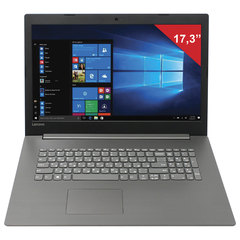 "Ноутбук LENOVO V320-17IKB 17,3"", INTEL Core I3-7020U 2,3 ГГц, 4 ГБ, 500 ГБ, DVD, Windows 10 Home, черный"