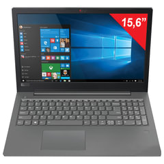 "Ноутбук LENOVO V330-15IKB, 15,6"", INTEL Core I3-8130U 3,4 ГГц, 4 ГБ, SSD 128 ГБ, DVD, Windows 10 Professional, черный"
