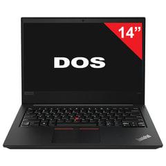 "Ноутбук LENOVO ThinkPad E480, 14"", INTEL I3-8130U 3,4 ГГц, 4 ГБ, 1 ТБ, NO DVD, DOS, черный"