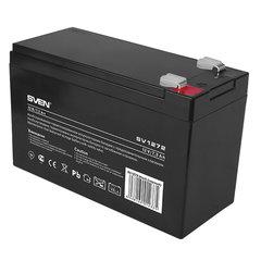 Аккумуляторная батарея для ИБП любых торговых марок, 12 В, 7,2 Ач, 151х65х98 мм, SVEN