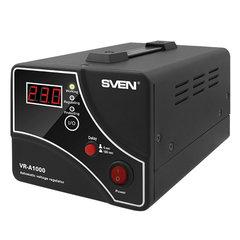 Стабилизатор напряжения SVEN VR-A1000,1000ВА/600 Вт, 1 розетка, входное напряжение 140-275 В