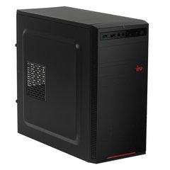 Системный блок IRU 120MT AMD E1 2500 1,4 ГГц, 4 ГБ, 500 ГБ, Windows 10 HOME, черный