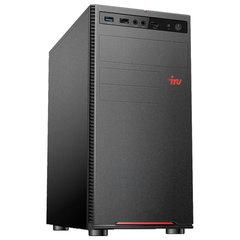 Системный блок IRU 312MT INTEL Pentium G5400, 3,7 ГГц, 4 ГБ, SSD, 120 ГБ, Windows 10 HOME, черный