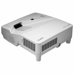 Проектор NEC UM301X с креплением, DLP, 1024х768, 4:3, 3000 лм, 6000:1, ультра-короткофокусн, 5,5 кг