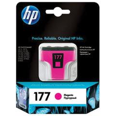 Картридж струйный HP (C8772HE) Photosmart C7283/C8183, №177, пурпурный, оригинальный, ресурс 370 стр