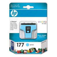 Картридж струйный HP (C8774HE) Photosmart C7283/C8183, №177, фото, светло-голубой, оригинальный