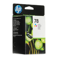 Картридж струйный HP (C6578AE) Deskjet 920/990/1220 и др., №78, цветной, оригинальный, 1200 стр.