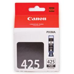 Картридж струйный CANON (PGI-425BK) Pixma MG5140/MG5240/MG6140/MG8140, черный, оригинальный, 344 стр
