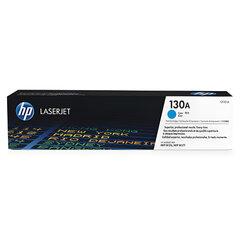 Картридж лазерный HP (CF351A) ColorLaserJet M176n/M177fw, голубой, оригинальный, ресурс 1000 страниц