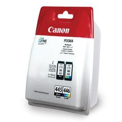 Картридж струйный CANON (PG-445/CL-446) PIXMA MG2440/MG2540, комплект, оригинальный, 2 цвета, 180 стр.