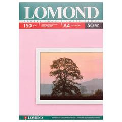 Фотобумага LOMOND для струйной печати, A4, 150 г/м2, 50 л., односторонняя, глянцевая, 0102018