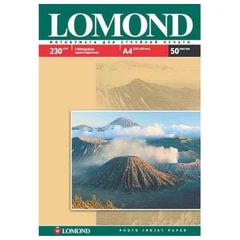 Фотобумага LOMOND для струйной печати, A3, 230 г/м2, 50 л., односторонняя, глянцевая, 0102025