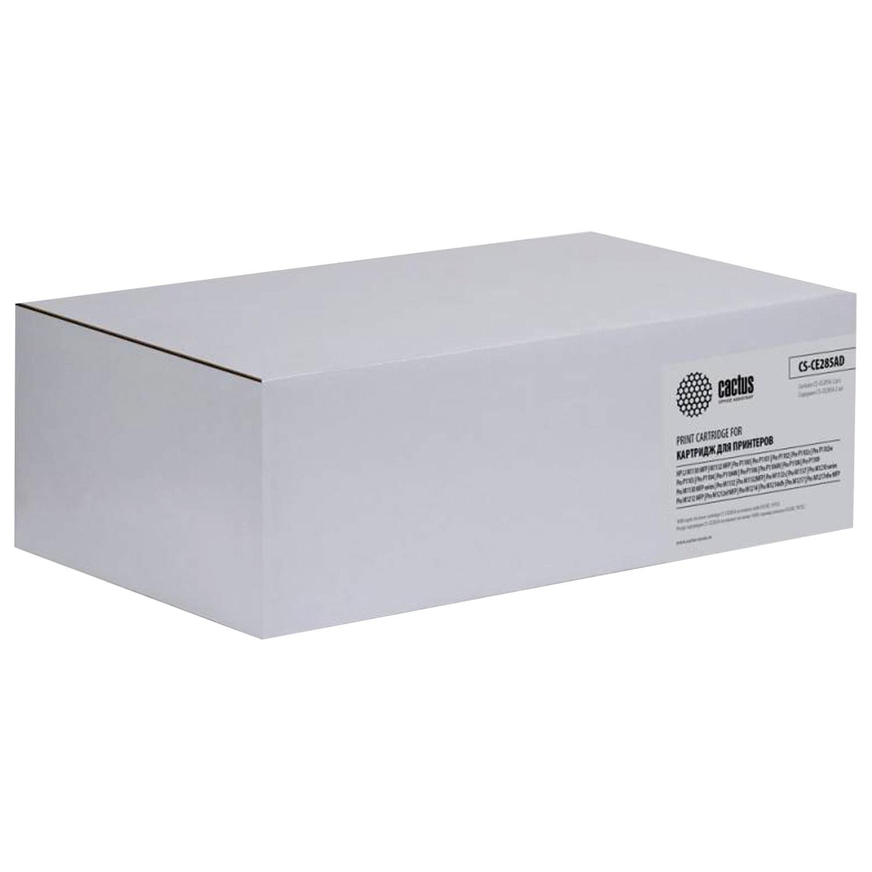 Картридж лазерный CACTUS (CS-CE285AD) для HP LaserJet P1102/M1212, КОМПЛЕКТ 2 шт., ресурс 2х1600 страниц