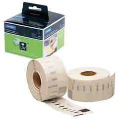 Картридж для принтеров этикеток DYMO Label Writer, этикетка 36х89 мм, в рулоне, 260 шт./рулоне, прозрачные, пластик