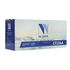 Картридж лазерный HP (CF226A) LaserJet Pro M402d/n/dn/dw/426dw/fdw, ресурс 3100 стр., NV PRINT совместимый
