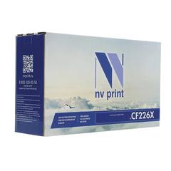 Картридж лазерный HP (CF226X) LaserJet Pro M402d/n/dn/dw/426dw/fdw, ресурс 9000 стр., NV PRINT совместимый