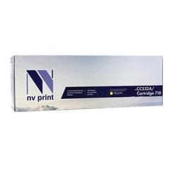Картридж лазерный CANON (718Y) LBP7200Cdn/MF8330Cdn/8350Cdn, желтый, ресурс 2900 страниц, NV PRINT совместимый