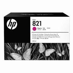 Картридж струйный HP (G0Y87A) Latex 110 Printer №821, цвет пурпурный, оригинальный, объем 400 мл