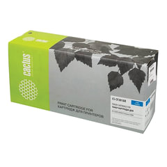 Картридж лазерный HP (CF301A) ColorLaserJet Enterprise flowM880, голубой, ресурс 32000 стр., CACTUS, совместимый