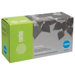 Картридж лазерный HP (Q7560A) ColorLaserJet 2700/3000, черный, ресурс 6500 стр., CACTUS, совместимый