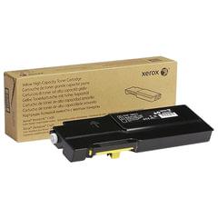 Картридж лазерный XEROX (106R03521) VersaLink C400/C405, желтый, ресурс 4800 стр., оригинальный